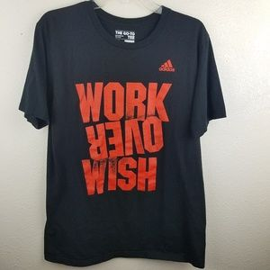 3/$20 ADIDAS Work Over Wish Graphic T-shirt